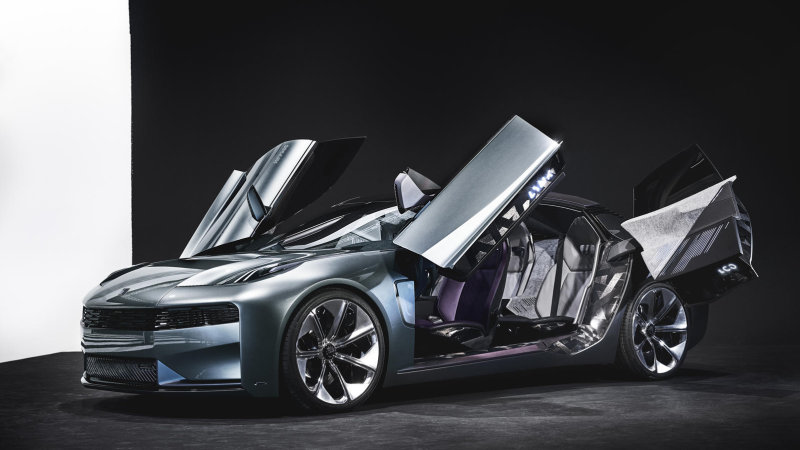 Lynk & Co's new concept car has some daring dihedral doors thumbnail